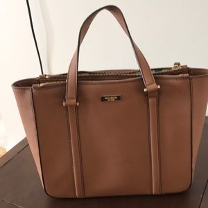 Kate Spade medium tan tote